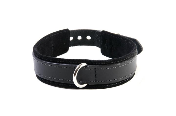 BDSM Slave Collar Black