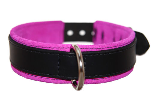BDSM Slave Collar Pink