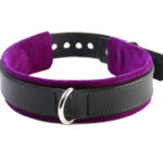 BDSM Slave Collar Purple