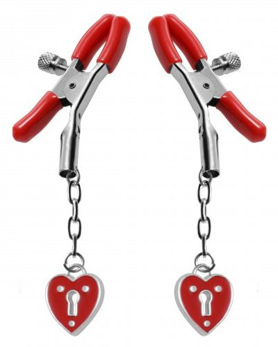 Captive Heart Nipple Clamps