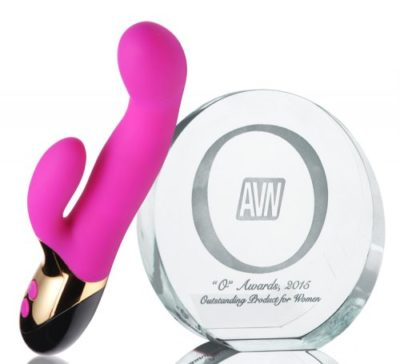 Come Hither Dual Stimulation Vibrator With Award