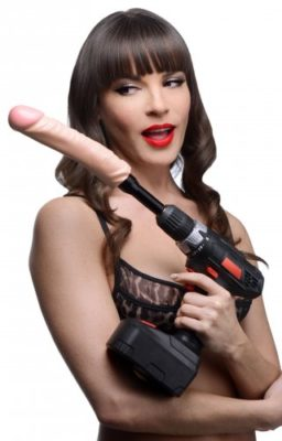 Drill-A-Hole Fuck Kit With Model
