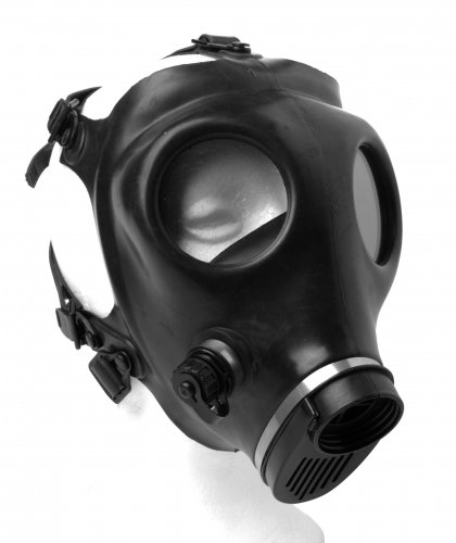 Genuine Gas Mask Side View 2