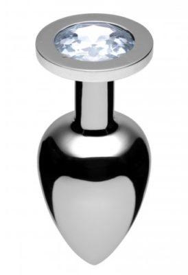 Jeweled Butt Plug Diamond Large