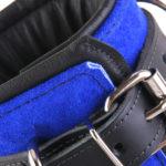 Padded Leather Bondage Cuff Close Up Of Buckle