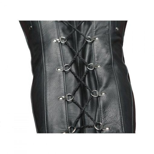 Premium Leather Sleep Sack Close Up