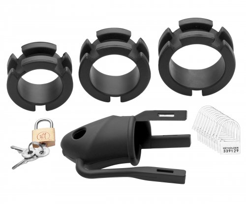 The Shadow Silicone Chastity Device Parts