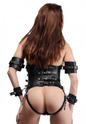 The Ultimate Leather Lock Down For Women Back View