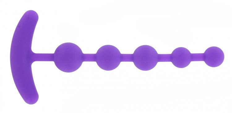 Silicone Anal Beads Side View