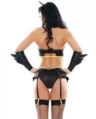 badgirl costume back