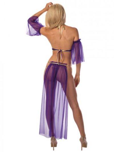 exotic slave girl costume back