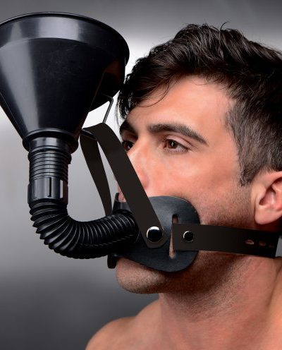 funnel gag with model