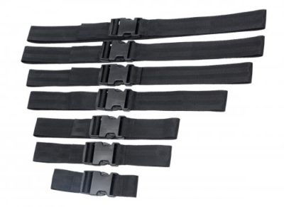 Full Body Bondage Strap Set Buckled