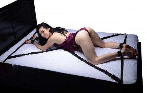 Interlace Bed Restraint Set Demo