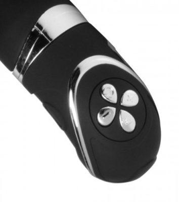 Vibrating Silicone Penetrator Close Up