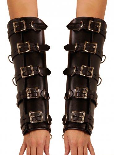 Locking Leather Arm Binders