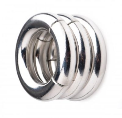 Stainless Steel Magnetic Ball Stretcher 3 Pack Connected