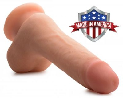 Realistic 7 Inch Dildo Made In America