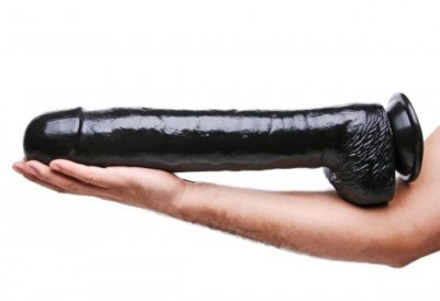 The Destroyer 16.5 Inch Dildo Demo
