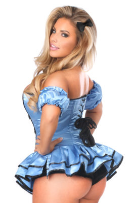 Alice Premium Corset Dress Costume Close Up Back