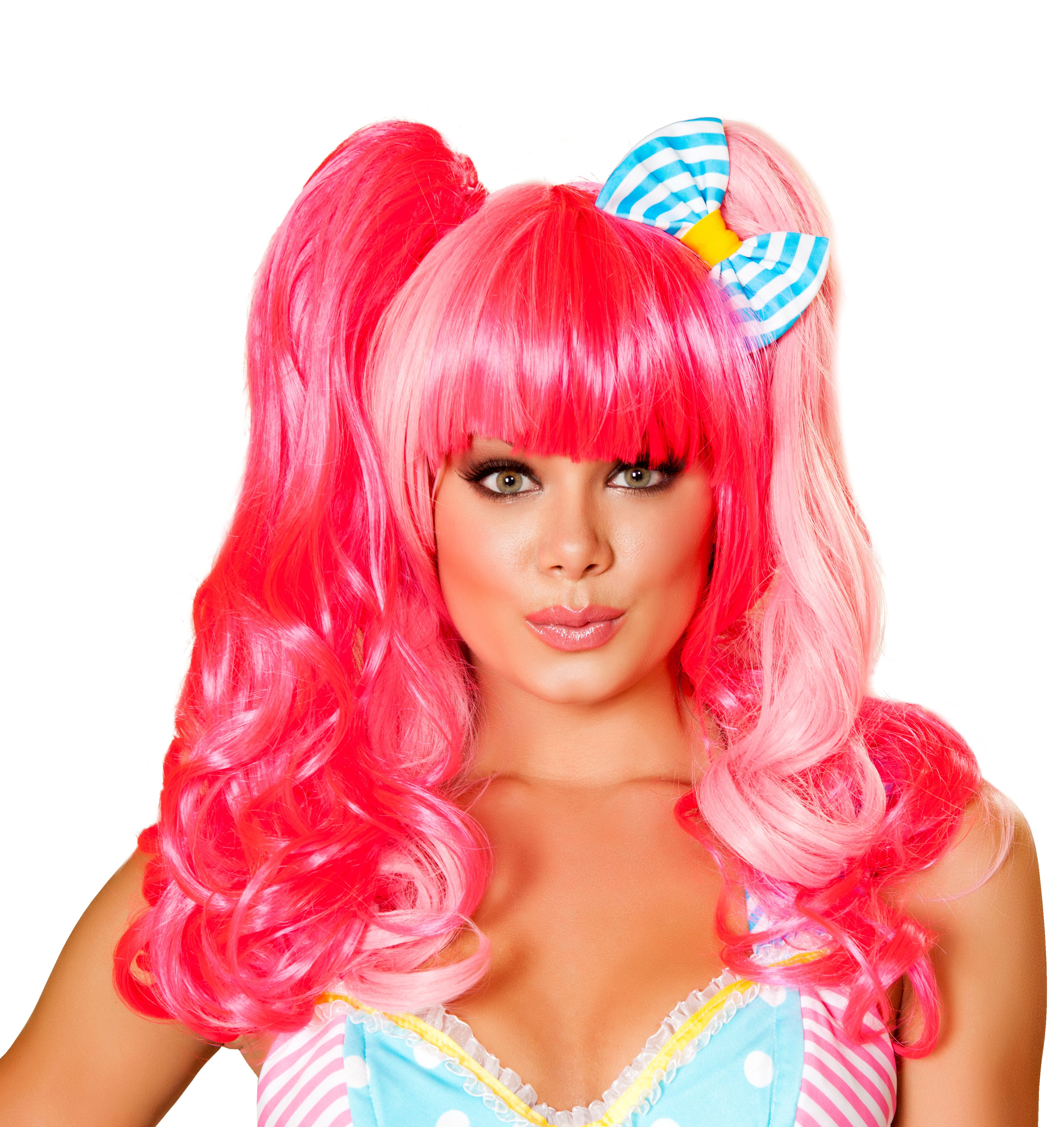 Candy Pink Wig