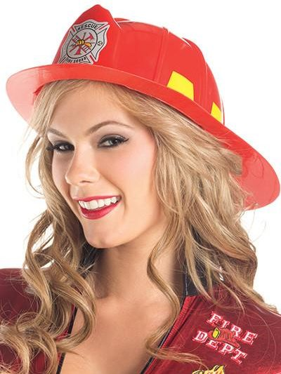 Fire Fighter Hat Red