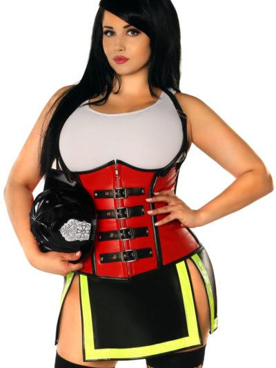 Five Alarm Firegirl Premium Corset Costume Queen