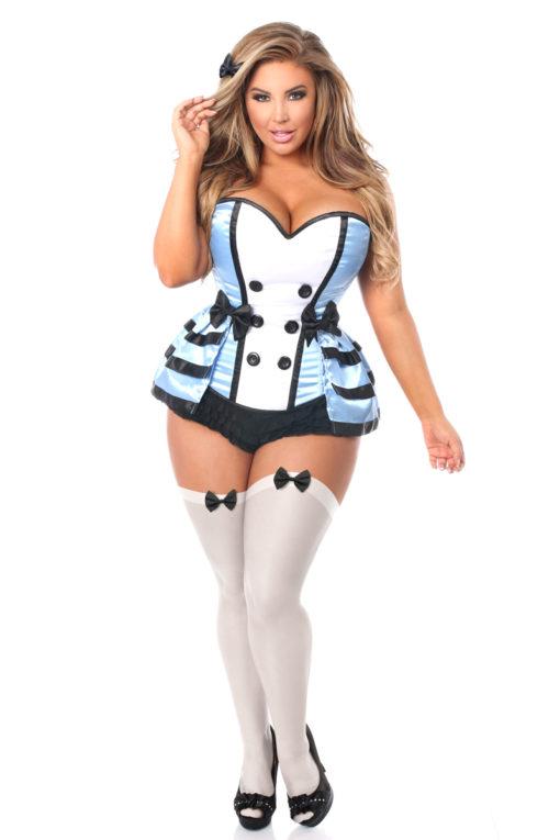 Flirty Alice Premium Corset Costume