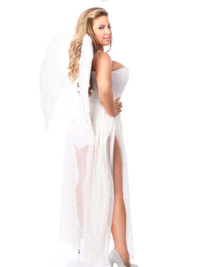 Glitter Fantasy Angel Corset Costume Back