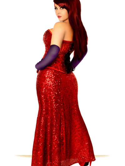Jessica Premium Corset Costume Back