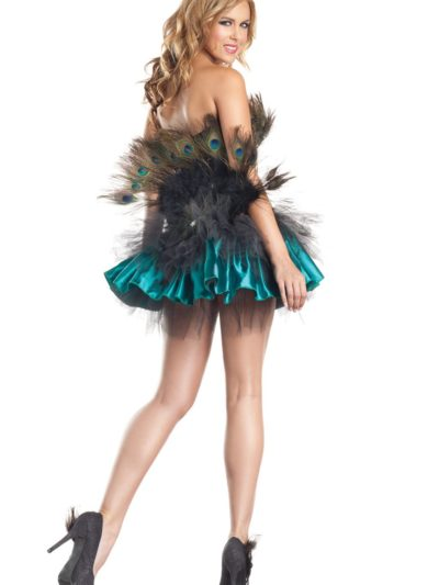 Peacock Princess Back