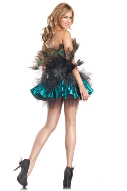 Peacock Princess Back