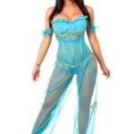 Persian Princess Premium Corset Costume