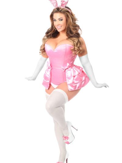 Pink Bunny Corset Costume