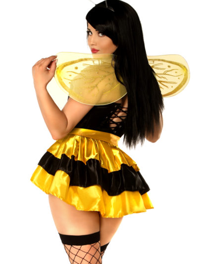 Queen Bee Corset Costume Back