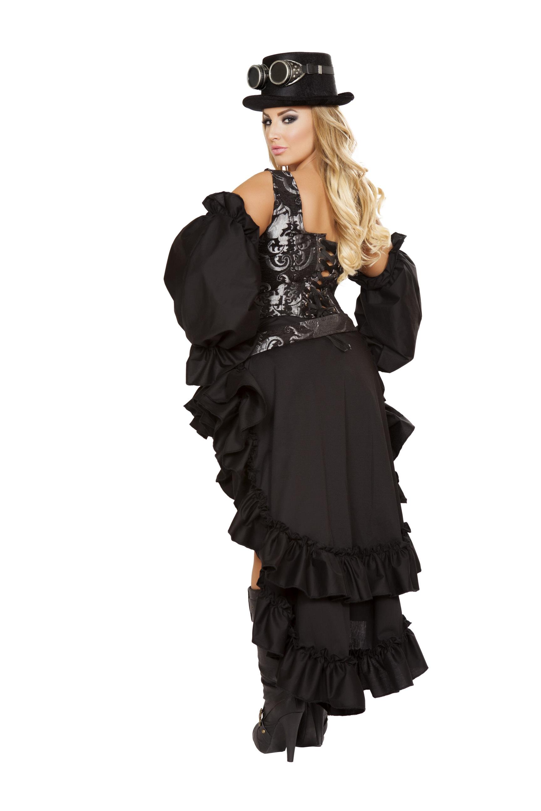 Sexy Steampunk Maiden Queen Back