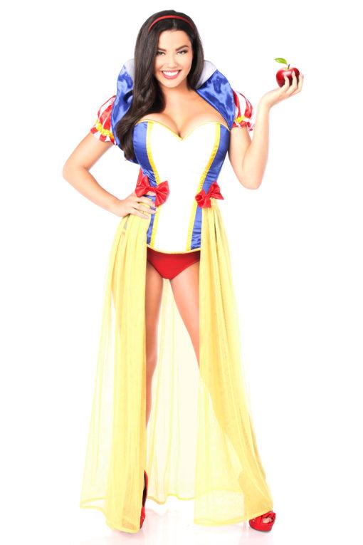 Snow Princess Corset Costume