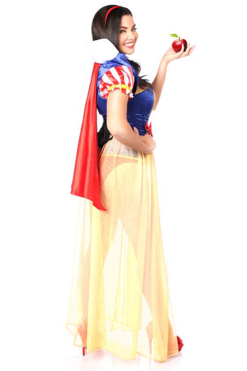 Snow Princess Corset Costume Back