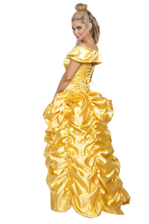 Beautiful Belle At The Ball Back