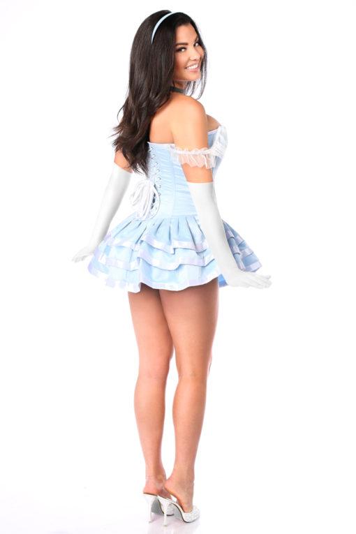 Fairytale Princess Corset Dress Back