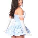 Fairytale Princess Corset Dress Close Up Back