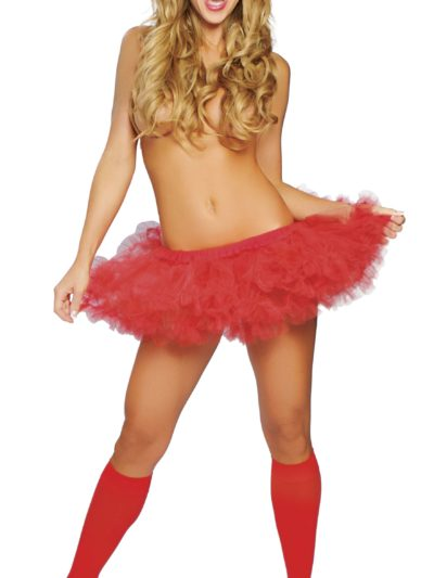 Fluffy Petticoat Red