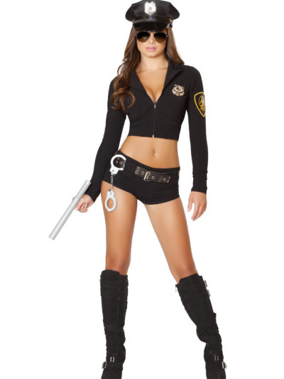 Officer Hottie To The Rescue