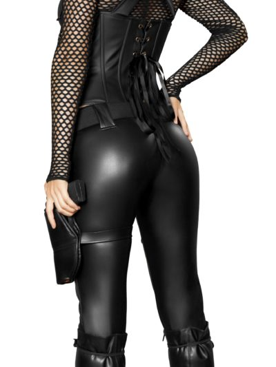 Sexy Swat Agent Back