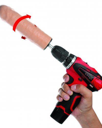 Power Spinner Dildo Drill Demo