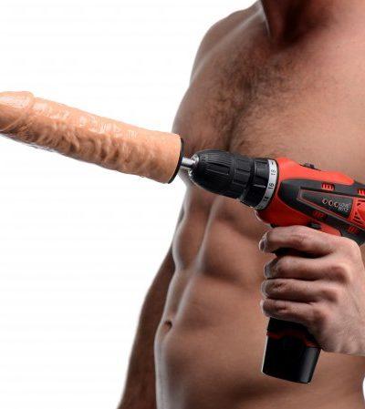 Power Spinner Dildo Drill With Model