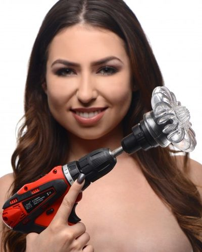 Female Pleasure Attachments For Power Spinner Drill With Model