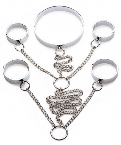 Stainless Steel Shackle Set