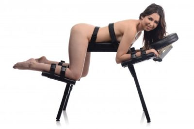 The Obedience Bench With Restraints With Model