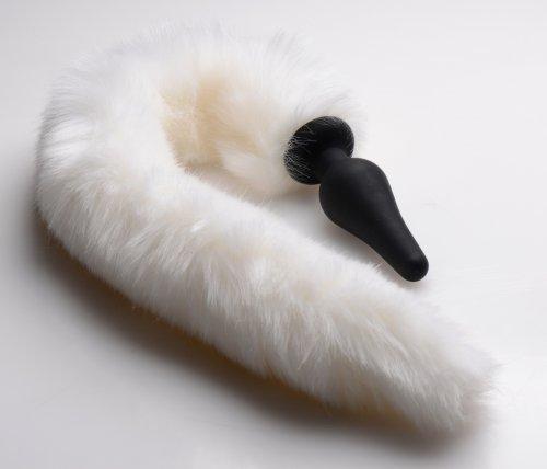 White Fox Tail Set